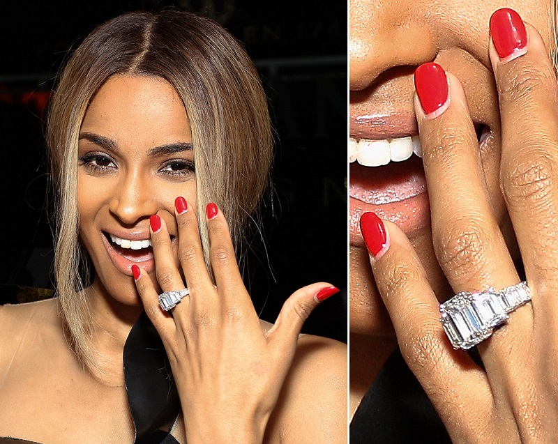 beyonce�s engagement ring a the rich side